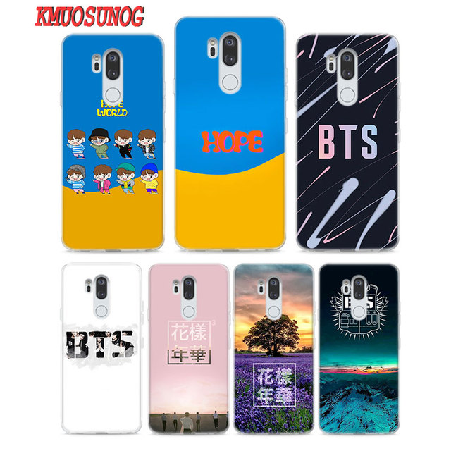 get cheap b39dc 43155 US $1.98 42% OFF|Transparent Soft Silicone Phone Case BTS Bangtan Boys for  LG Q7 Q6 V40 V30 V20 G7 G6 G5 ThinQ Mini Plus-in Fitted Cases from ...