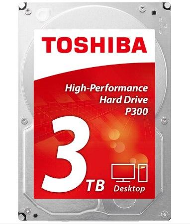 Toshiba HDD 3 tb De Bureau 7200 rpm Disque Dur Interne HDD Sata Sata3 Disque pour Ordinateur Drevo PC Disque Dur d'origine Livraison Gratuite