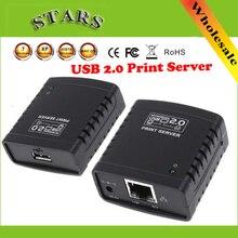 USB сервер LPR печати концентратор адаптер Ethernet LAN сети принтер для Сетей и хранения, Оптовая Бесплатная Доставка + Drop доставка