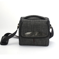 Casual Camera Schoudertas Shockproof Oxford Doek Sling Bandje Soft Case 24x15x21 cm Voor DSLR Camera Accessoire
