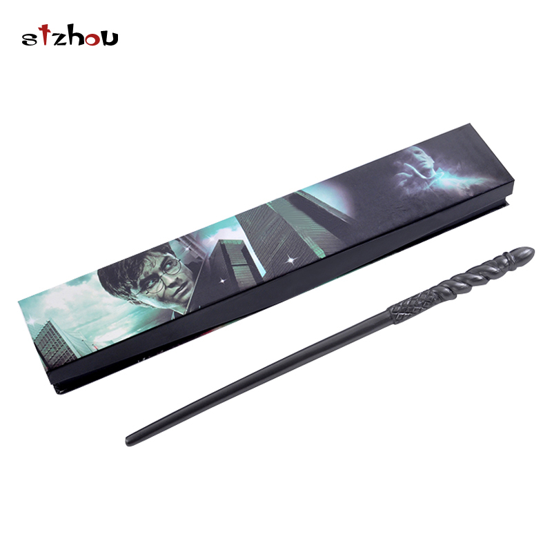 Stzhou Movie Cosplay Ginny Weasley Silver Grey Magical Wand Magic Toys For Kids Children