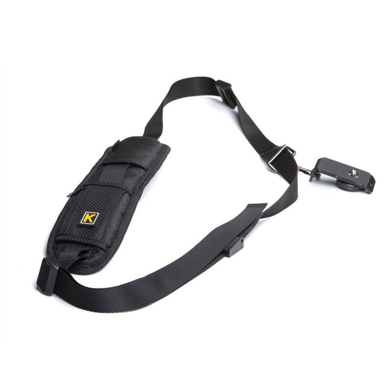 Brand New Camera Shoulder bag Single Shoulder Sling Black Strap Belt Sling Sponge Pad for Canon for Nikon for Sony DSLR Camera