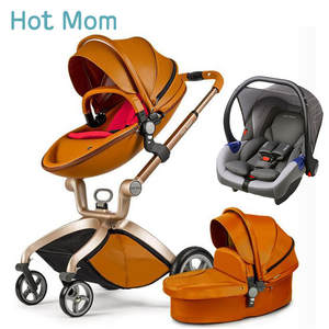 Hotmom Stroller High-Landscape in Russia Lie of Or Can-Sit Easy