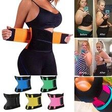 Дышащий Пояс для поддержки талии, защита под давлением, Корректирующее белье для живота, регулируемый пояс, тренировочный пояс для мужчин и женщин, фитнес-спорт