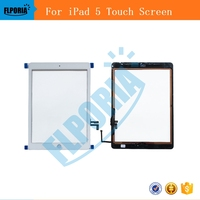 Touch Screen For IPad 5 Generation 5 Digitizer LCD Panel Front Glass A1822 A1823 Replacement With