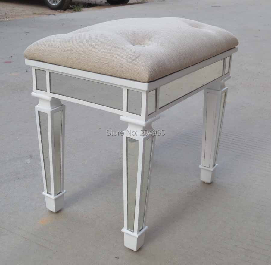 Terrific Vanity Ottoman Chair Pictures - Best image 3D home ...