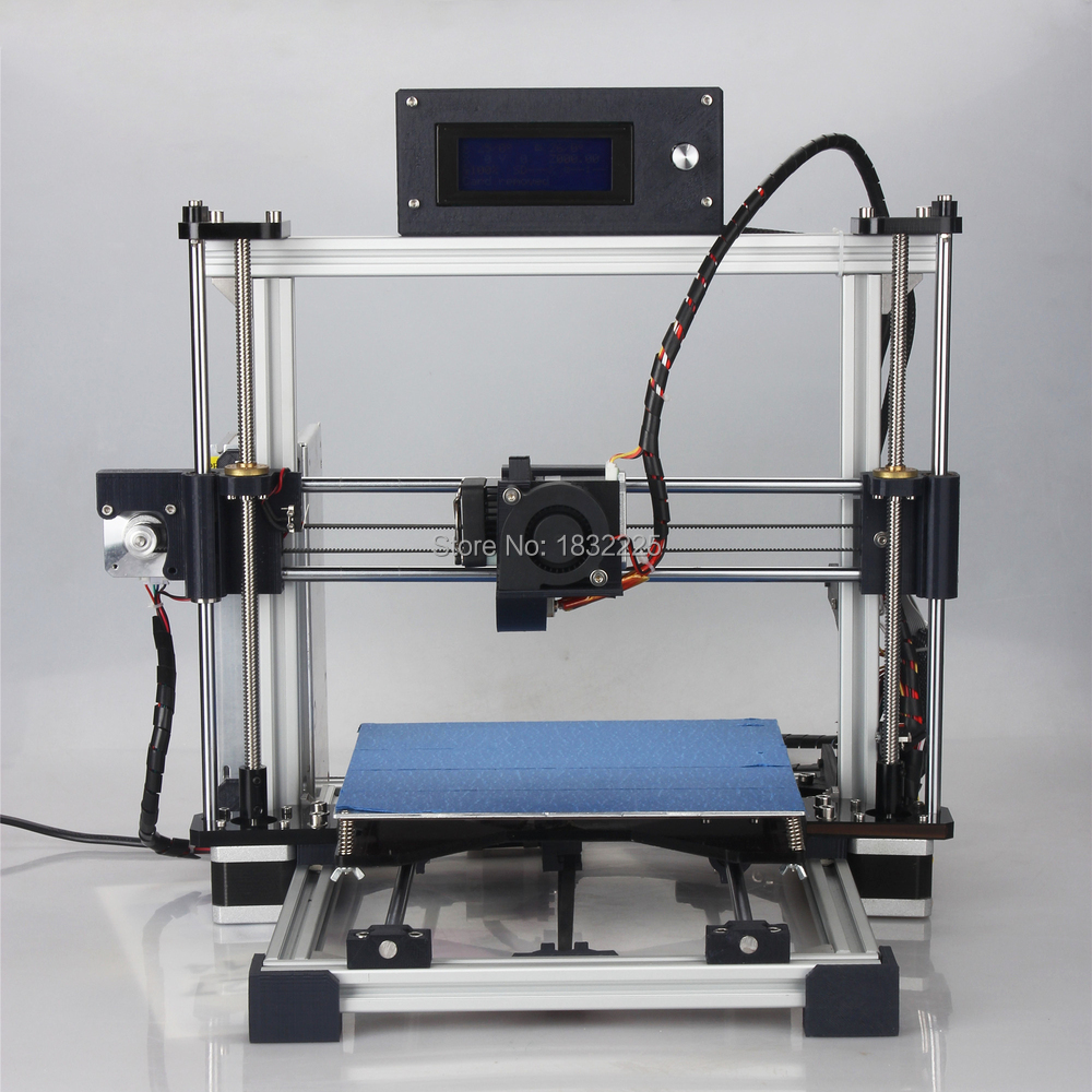 Auto Leveling Big Printing Bed High Precision Reprap Prusa i3 DIY 3d Printer kit with 1Roll