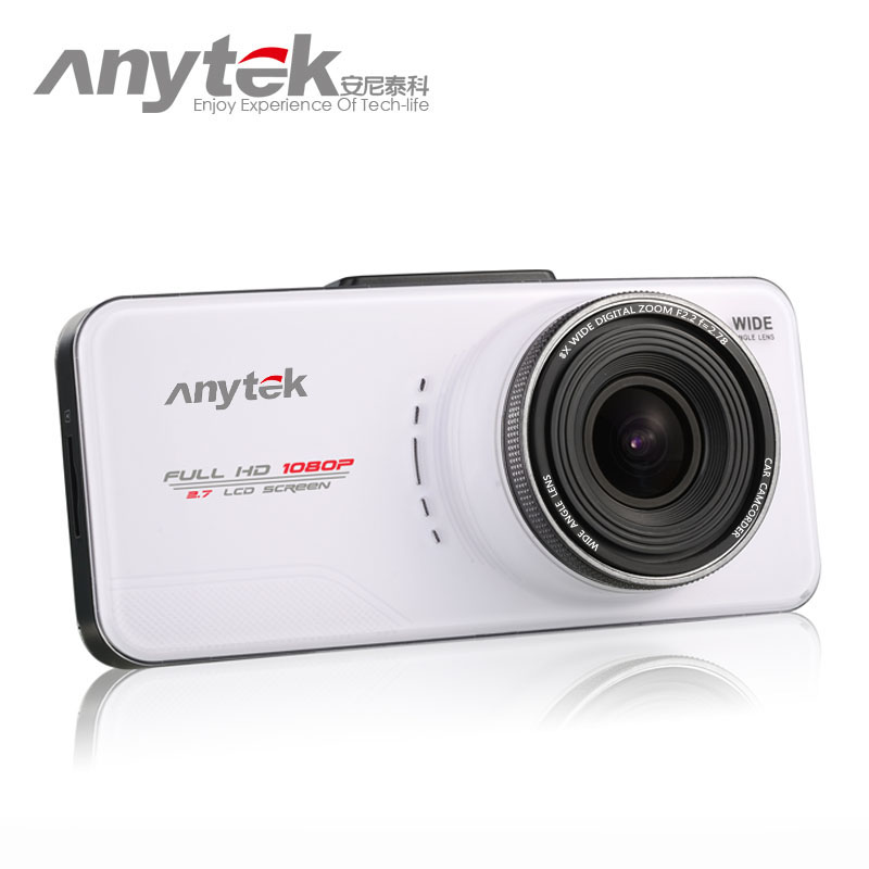 Originale anytek at66a dell'automobile dvr 1920x1080 p fhd macchina fotografica novatek 96650 dash cam registrar registratore video registrator gps tracker wdr