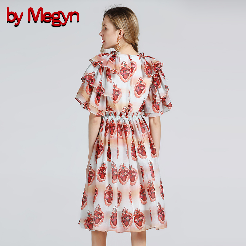 En De Imprimer White Femmes Cascade 2018 Manches Robe Fête Megyn Piste Par Pour Noël Mode Les Courtes Robes Moulante Volants Mini 4O8nXBRx