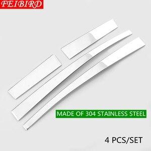 Image 5 - 304 Stainless Steel For TOYOTA RAV4 RAV 4 2014 2015 2016 2017 2018 Side Door Mirrors Rearview Stripe Cover Trim Kit
