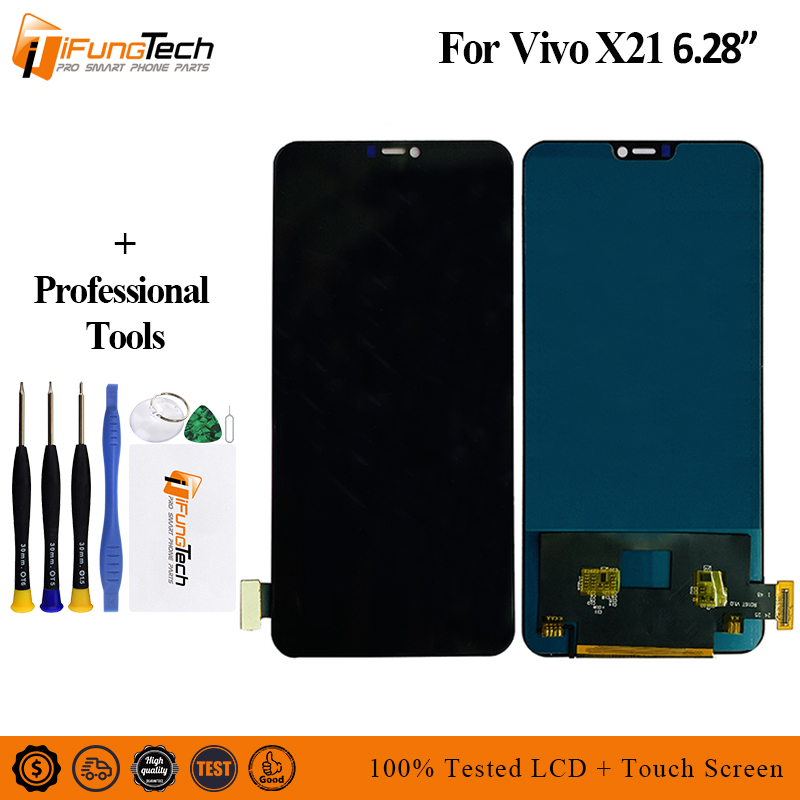 For Vivo X21 LCD Display Touch Screen Digitizer Assembly Replacement parts X21A LCD