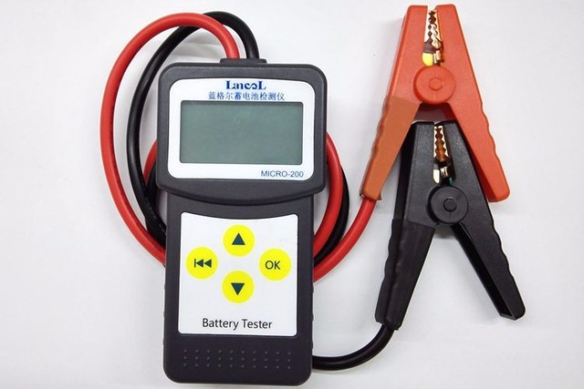 LANCOL MICRO-200 Cheap 12V Automotive Car Battery Load Tester 30-200Ah with USB for printing