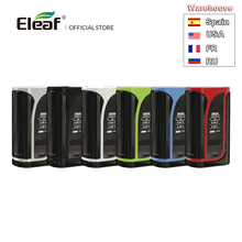 Lager Original Eleaf iKuu i200 TC Box Mod Mit 4600mAh Gebaut in Batterie VW/TC Modus 510 Gewinde elektronische Zigarette