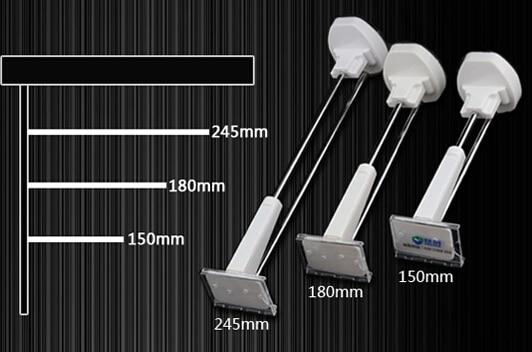 245mm Anti Theft Shelf Amount Hanger Merchandise display Hook Bracket Electronic Product Holder Hanger With Acrylic Label Frame