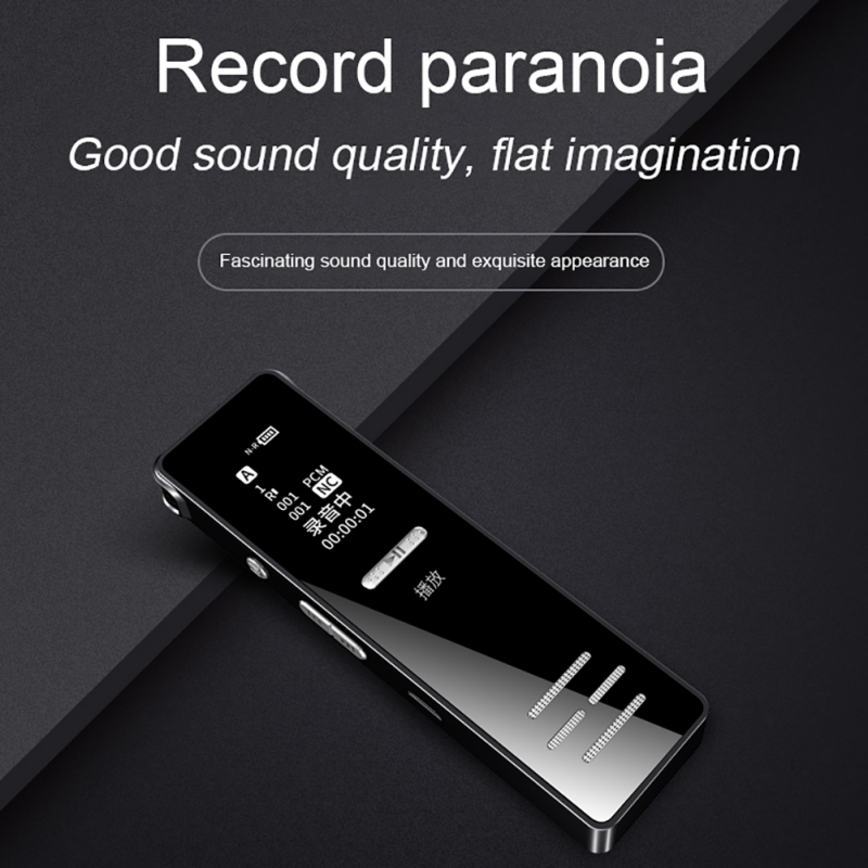 Small mini digital Voice Recording audio Pen Portable TF Card Noise Cancellation Conference/Lecture/Meeting Audio Recorders
