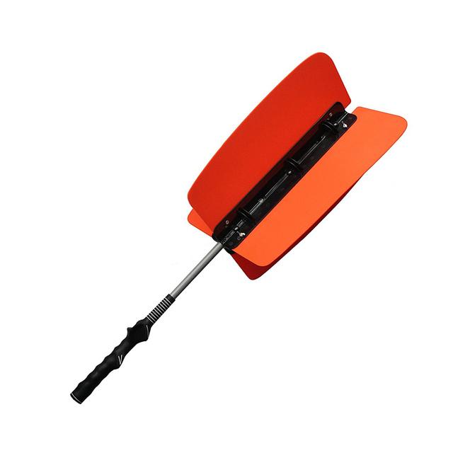 Power Resistance Practice Training Swing Fan Golf Club Kit