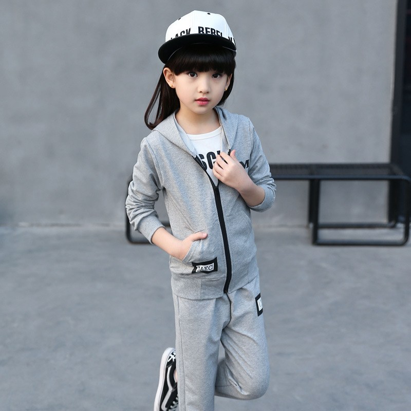 Clothing sets kids clothes ropa mujer roupas infantis menina girls clothes Boys sports suit Sports set girl Jacket and pants 2pcs led white yellow daytime running lights drl for honda fit jazz 2014 2015
