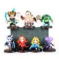 Dota 2 heroes figuras juguete 2016 Nueva Dota2 Pudge figura FV Darkterror Rylai Crestfall Kunkka Leviatán TH Lina Akasha QOP SM