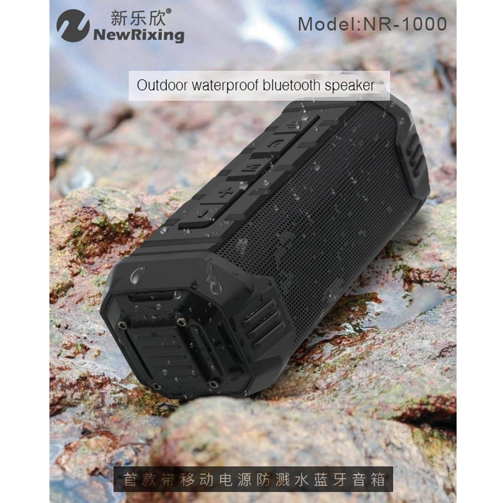 High Power Bluetooth TWS Deep Bass Speaker IPX4 Waterproof Hifi Music Sound Box Portable Power Bank Wireless Audio System