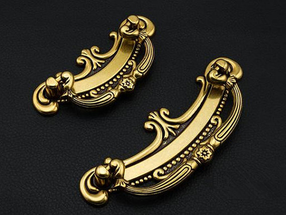 2.5 3.75 Vintage Style Dresser Pulls Drawer Handles Knobs Gold Bronze Red Cabinet Door Pull Handle Furniture Hardware 64 96mm cabinet door handles pulls knobs gold bronze dresser drawer pull handles kitchen furniture cupboard hardware decorative art deco