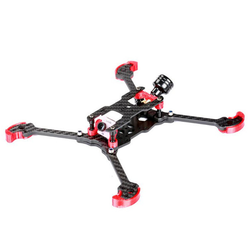 IFlight TAU-H5.5 225mm Wheelbase 5mm Arm 3K Carbon Fiber FPV Racing Frame Kit Red for RC Models Multicopter Drone DIY Parts miko rhino3 150mm wheelbase 3 inch 6mm arm carbon fiber molded integrated rc fpv racing frame kit for diy multicopter drone part