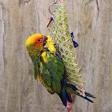 Новинка, Misterolina, трава, для домашних животных, птица, попугай, качели, клетка, игрушки для кормления, жевательные укусы, для попугая, какашки, качели, клетки, игрушки
