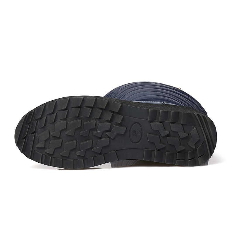 QZYERAI Nieuwe collectie winter warm manier dij snowboots casual mode waterdichte vrouwelijke laarzen winter is erg warm