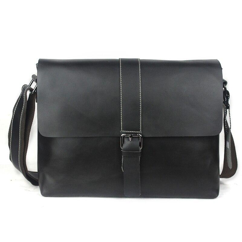 WESTAL Business Briefcase Leather Laptop Bag Men Bag Men Messenger Bags Genuine Leather Shoulder Crossbody Bags for Man Totes