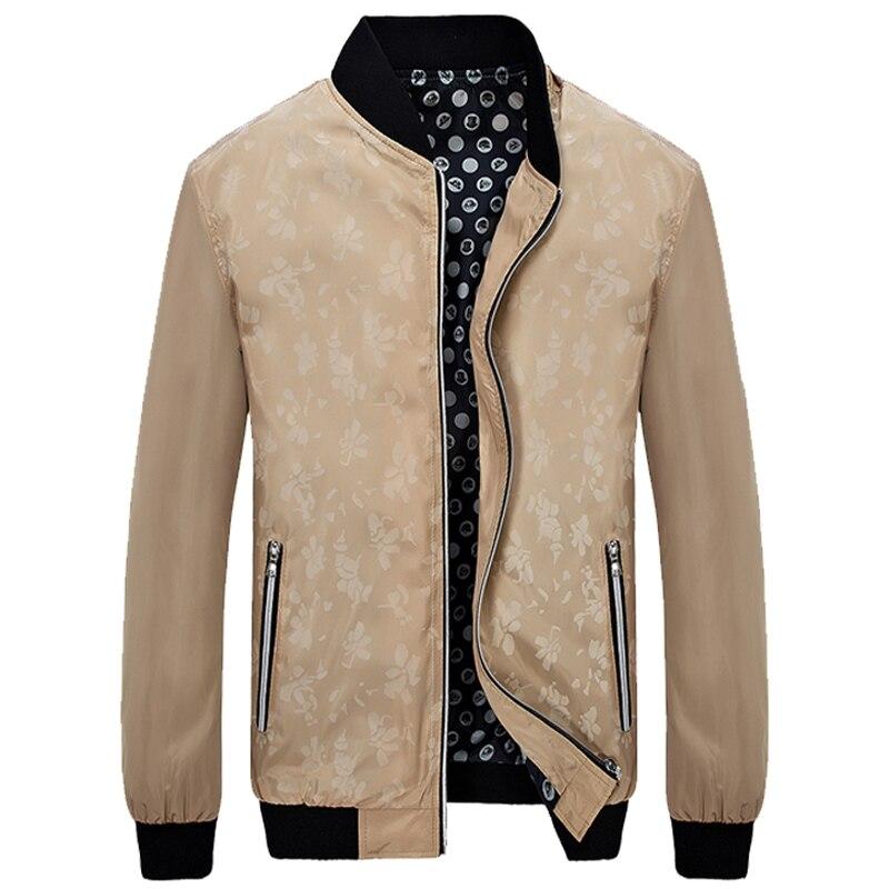 Новый 2017 куртка мужчины моды случайные свободные мужская куртка спортивная куртка бомбардировщика мужские куртки и пальто плюс размер 4xl 5xl