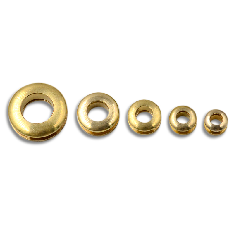12//14//15mm Brass Eyelet with Washer Grommet Rivet Craft Repair