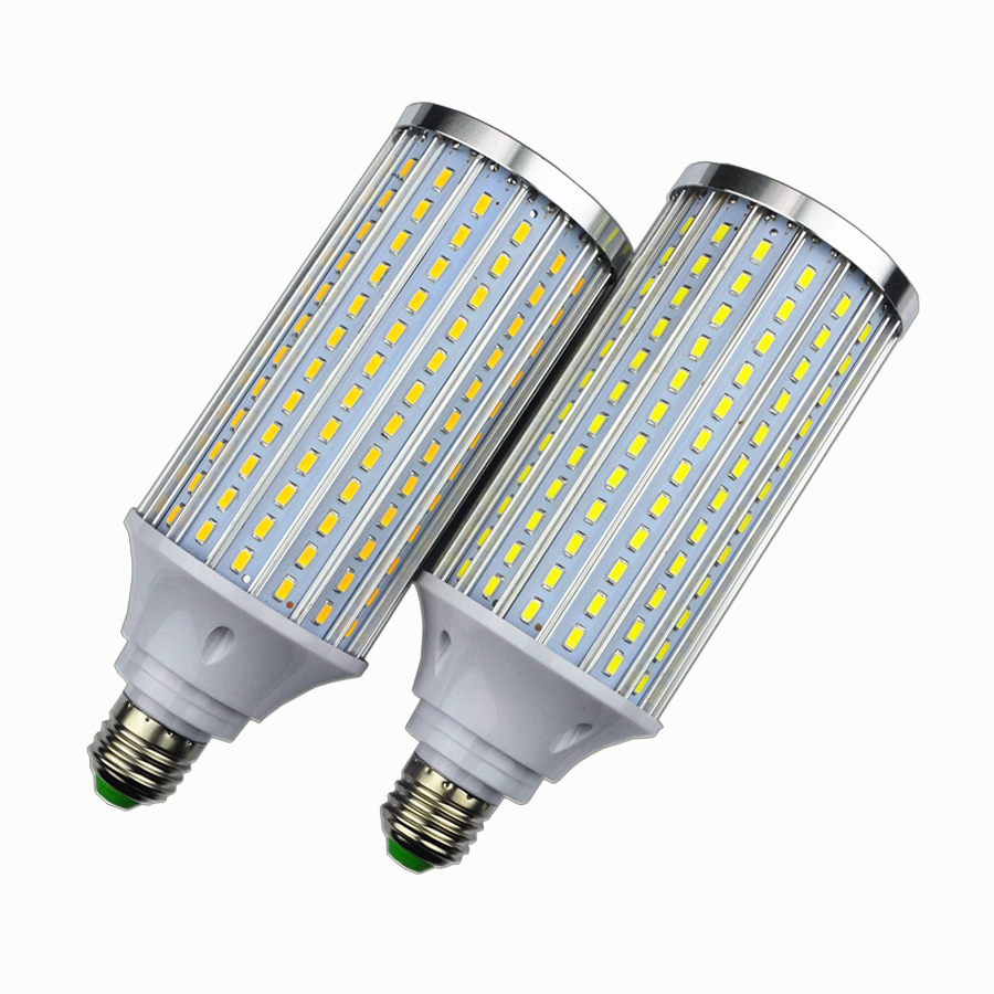 Aluminum Led Corn Bulb Light , E27 50W LED lamp Light, SMD 5730 210Leds Led Corn Lamp Chandelier light AC85V-265V lexing lx r7s 2 5w 410lm 7000k 12 5730 smd white light project lamp beige silver ac 85 265v