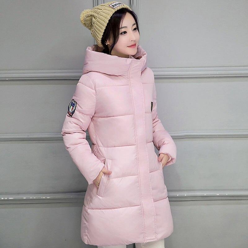 2017 New Spring Jacket Women's Winter Jacket Women's Warm Coat Thin Cotton Shirt Jacket Women's High Quality Marcos Fei Minuo marcos