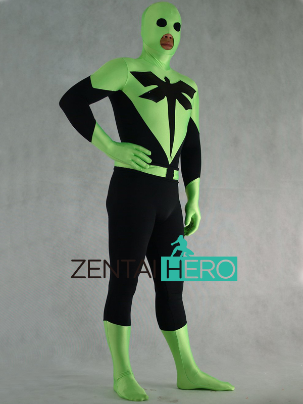Novelty & Special Use Movie & Tv Costumes Trend Mark Free Shipping Dhl Dragonfly Man Superhero Movie Black And Green Lycra Zentai Suit With Open Mouth Bodysuit Fancy Dress Ps108 And Digestion Helping