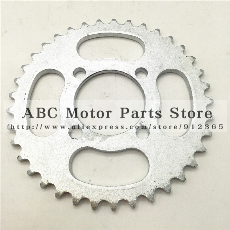 420 Chain rear sprocket 37 tooth 53mm centre hole for Small Dirt Pit Bike <font><b>Gear</b></font> rotor off road motorcycle Motocross spare parts