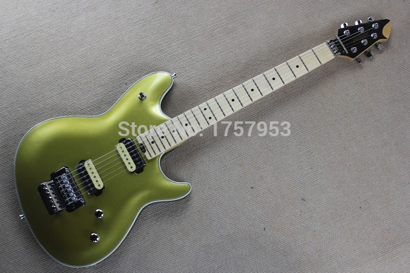Free Shipping Factory custom shop 2017 New  Peavey EVH guitars electric guitar Gold Top  in stock 1 1 free shipping chinese factory custom 2015 100