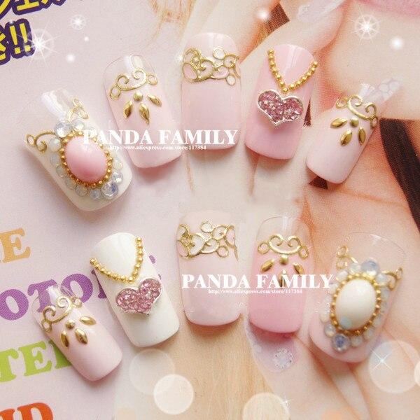 De encargo profesional decoración de uñas de arte de la cubierta ...