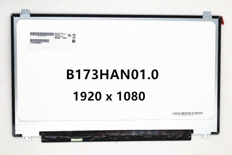 17.3 дюймов ЖК экраны для ноутбука LED Дисплей IPS Панель n173hce-e31 ltn173hl01-401 lp173wf4-spd1 lp173wf4-spf1 b173han01.0 b173han01