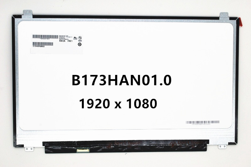 17.3 inch Laptop LCD Screen LED Display IPS Panel N173HCE-E31 LTN173HL01-401 LP173WF4-SPD1 LP173WF4-SPF1 B173HAN01.0 B173HAN01 цена 2017