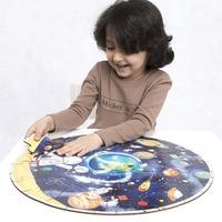 Lớn Câu Đố Thông Minh Phát Triển Bản Đồ Thế Giới Universe Planet Năng Lượng Mặt Trời Hệ Thống Tầng Toy Cho Nữ Nam Trẻ Trẻ Em