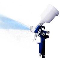 H 2000 Pneumatic Paint Spray Gun 0 8MM 1 0MM Nozzle Mini Air Paint Spray Gun