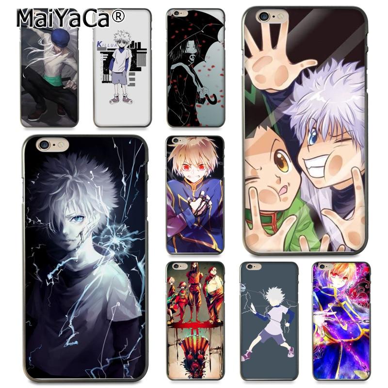 MaiYaCa Anime Hunter X hunter 3 Coque Shell Caso de Telefone para A Maçã iPhone 8 7 6 6 S Plus X 5 5S SE Tampa 5C