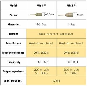 Image 3 - Freeboss Haut Farbe 3 Pin Mini XLR Kondensator Mikrofon für Körper pack Sender