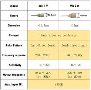 Image 3 - Freeboss micrófono condensador XLR Mini, 3 pines, Color piel, para transmisor, paquete de cuerpo