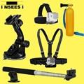 Accessory Kit Set for GoPro Go Pro Hero 1 2 3 3+ 4 Action Sport Camera Chest Head Strap Belt Mount Floating Bobber Handle Grip
