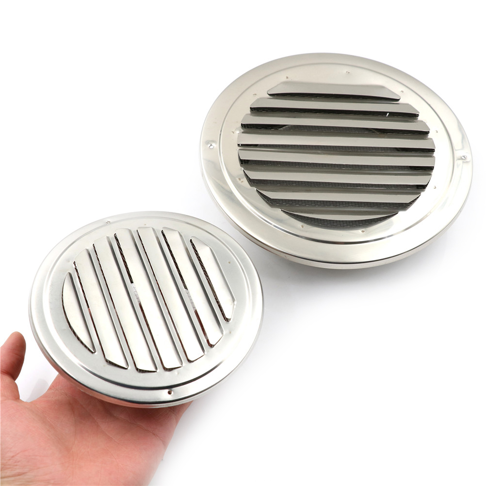 US $2 67 30% OFF|100mm/150mm Stainless Steel Circle Air Vent Grill Cover  Grille Ducting Ventilation Cover For Ceiling Ducting Vent Grille-in Tool