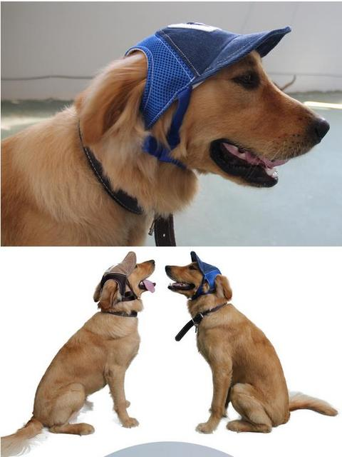 5PCS Pet Dog Cap Baseball Hat For Pet Windproof Dog Golden Retriever Sunhat Hat  Dog Cowboy 9c8711b14ca7