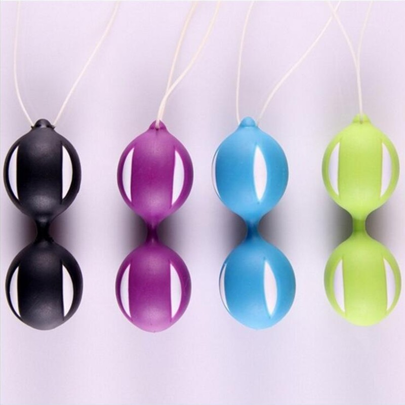 Silicone Balls Vagina Tightening Kegel Exerciser Vibrator Ball Vaginal Balls Trainer Sex Toys for Women Adult