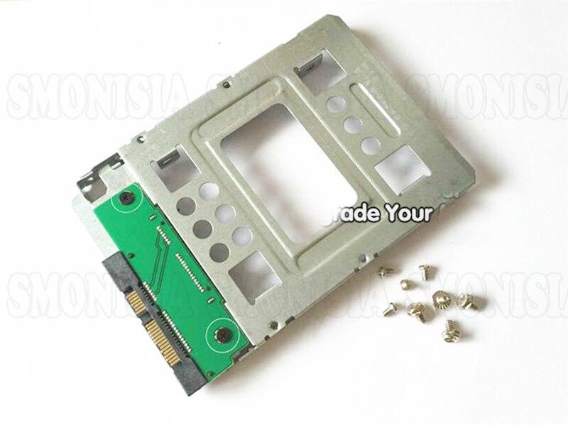1pcs- 30pcs SSD Hard Disk Bracket Converter For Apple Mac Pro 2.5 To 3.5 Inch GEN8/N54 1pcs 30pcs hard disk bracket for dell r710 r610 r910 r720xd g176j 2 5 inch