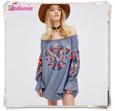jean-blouse