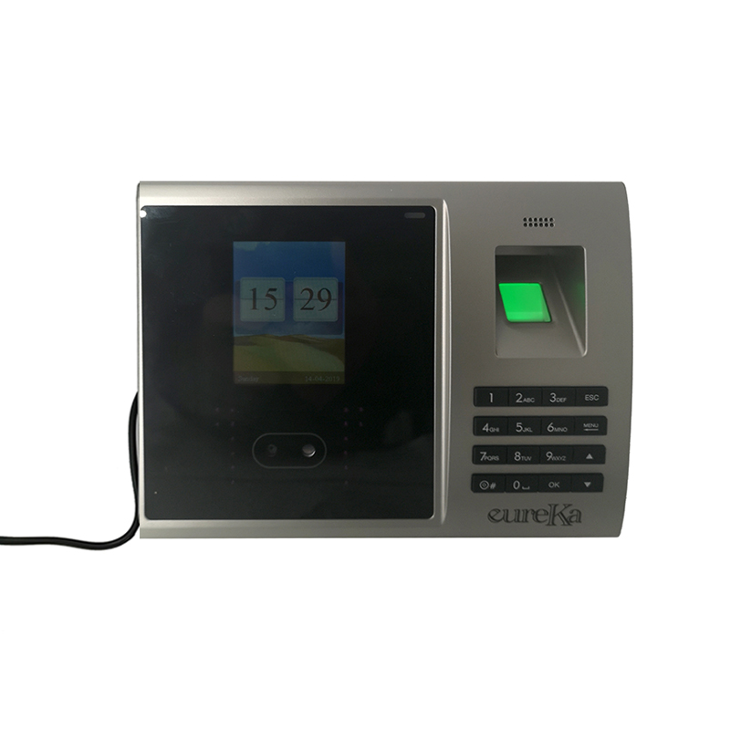 Biometric Face Fingerprint Time Attendance System Clock Recorder Employee Recognition Recording Device Electronic Machine